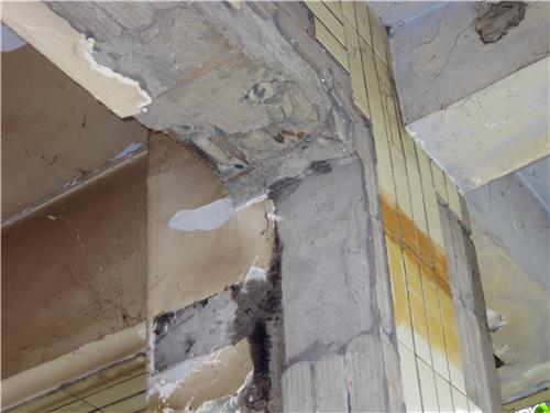 项目结构分类 混凝土梁地震破坏情况